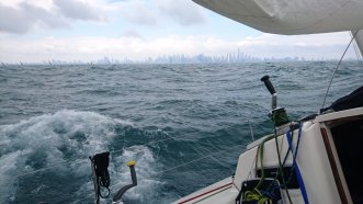 Choppy Water Chicago to Mackinac Race 2018